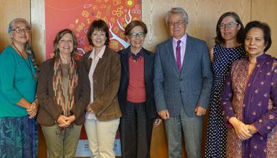 Secretaria académica participó en reunión de expertos