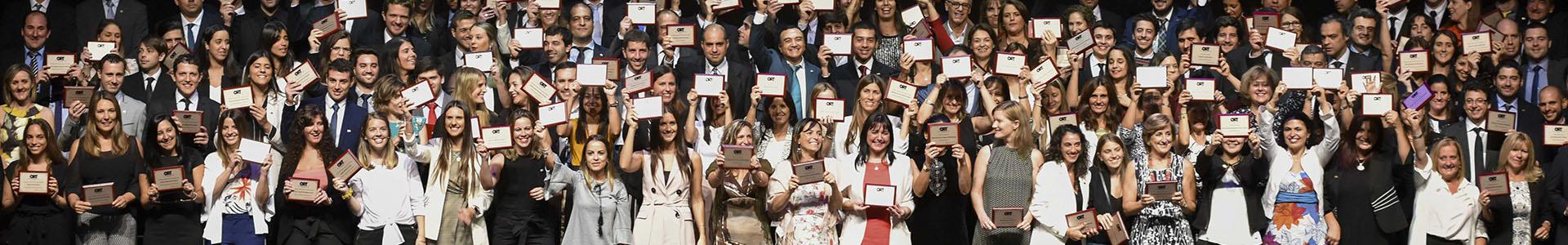 Egresados del Instituto de Educación de la Universidad ORT Uruguay