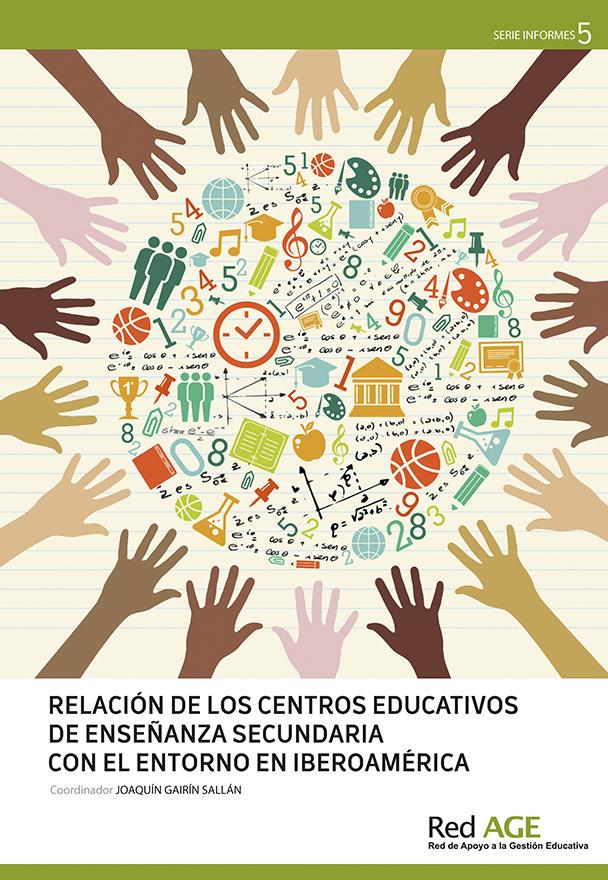 Relación de los centros educativos de enseñanaza secundaria con el entorno en Iberoamérica (2013)