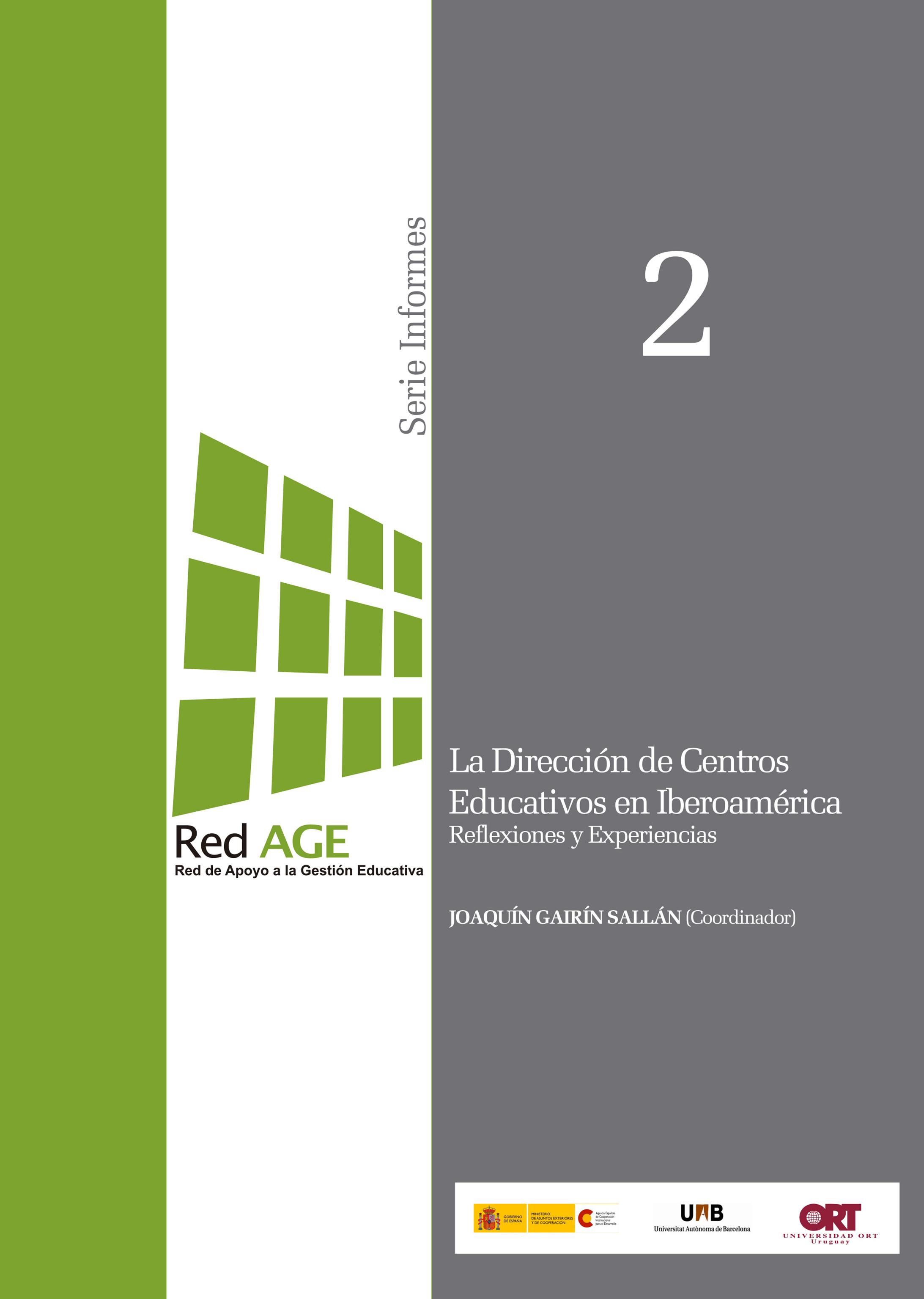 La dirección de centros educativos en Iberoamérica. Reflexiones y experiencias (2010)