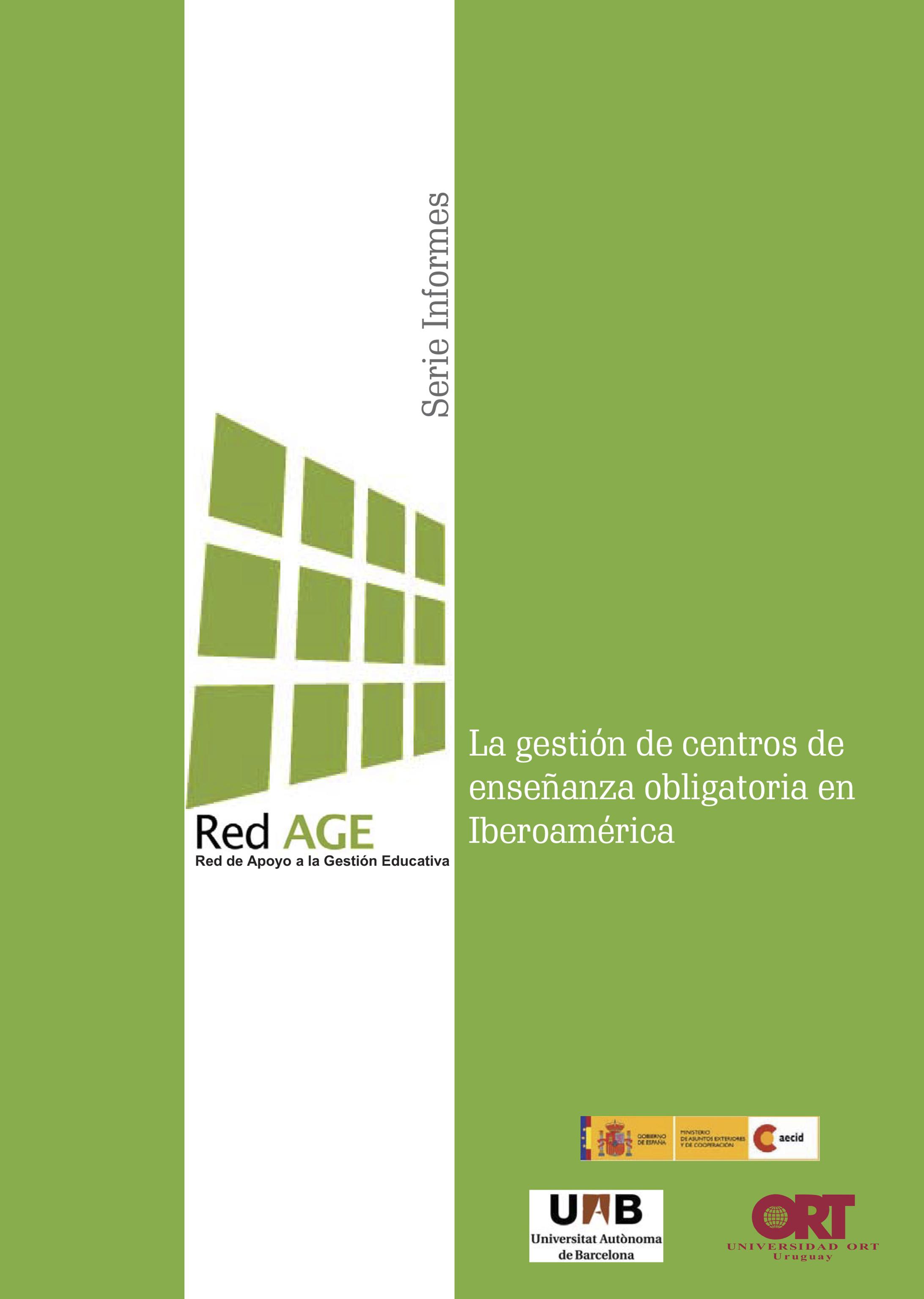 La gestión de centros de enseñanza obligatoria en Iberoamérica (2009)